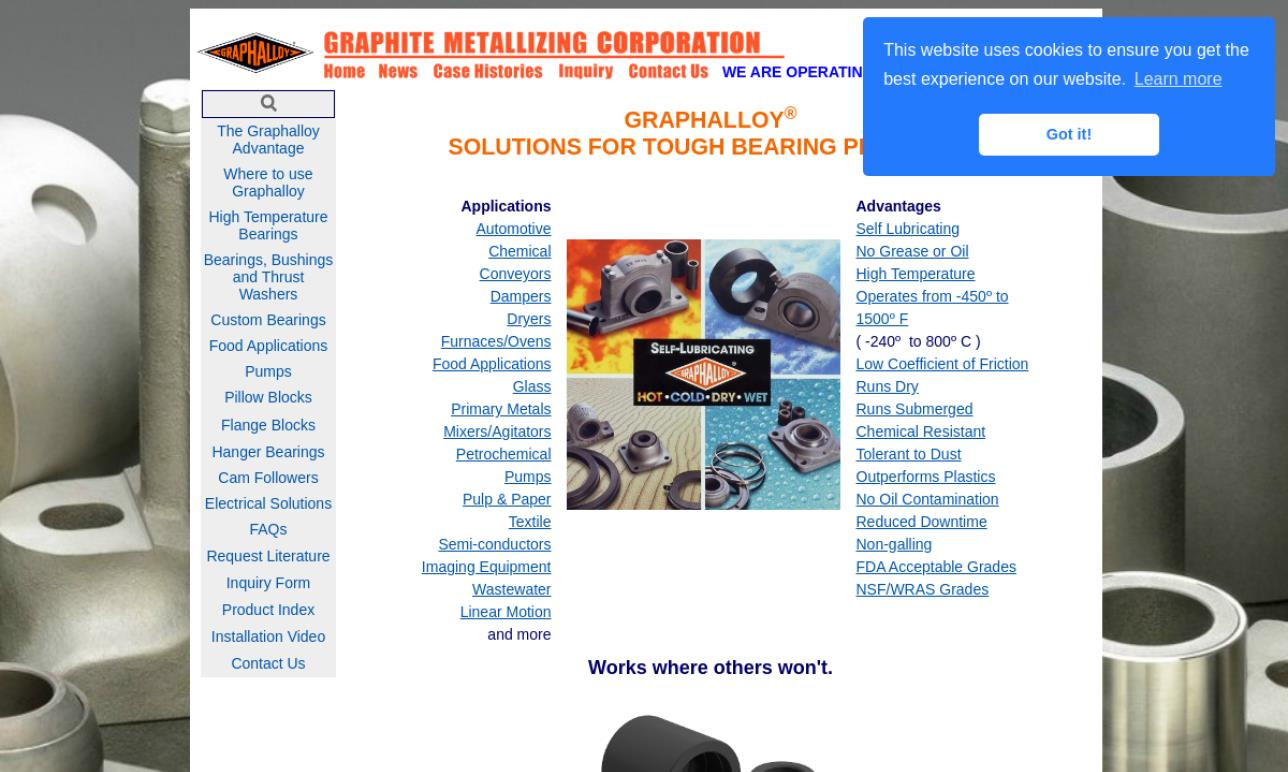 More Linear Bearing Manufacturer Listings